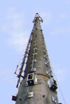 radio tower support